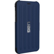 Urban Armor Gear Metropolis Folio Case, Apple iPhone XR, cobalt (blau)