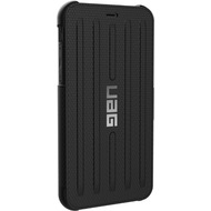 Urban Armor Gear Metropolis Folio Case, Apple iPhone XR, schwarz
