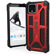 Urban Armor Gear Monarch Case, Google Pixel 4, crimson (rot), 611661119494