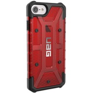 Urban Armor Gear Plasma Case - Apple iPhone 8 /  7/  6S - Magma rot-transparent