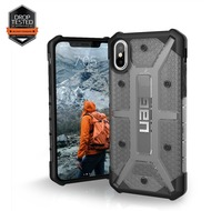 Urban Armor Gear Plasma Case, Apple iPhone X, ash (grau transparent)
