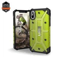 Urban Armor Gear Plasma Case, Apple iPhone X, citron (gelb transparent)