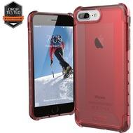 Urban Armor Gear Plyo Case - Apple iPhone 7 Plus /  iPhone 8 Plus/ 6S Plus - crimson (rot transparent)