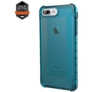 Urban Armor Gear Plyo Case, Apple iPhone 8 Plus/ 7 Plus/ 6S Plus, glacier (blau transparent)