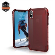 Urban Armor Gear Plyo Case, Apple iPhone X, crimson (rot transparent)