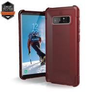 Urban Armor Gear Plyo Case - Samsung Galaxy Note8 - crimson (rot transparent)