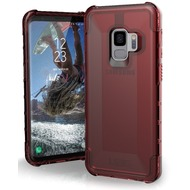 Urban Armor Gear Plyo Case, Samsung Galaxy S9, crimson (rot transparent)