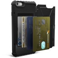 Urban Armor Gear Trooper Card Case - Apple iPhone 6 Plus/ 6S Plus - Schwarz