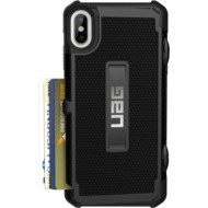 Urban Armor Gear Trooper Card Case, Apple iPhone XS Max, schwarz
