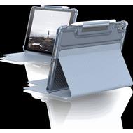 Urban Armor Gear U by UAG [U] Lucent Case, Apple iPad 10,2 (2020 & 2019), soft blau (transparent), 12191N315151