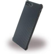 UreParts Carbon Case /  Hardcase - Apple iPhone 7 Plus - Schwarz