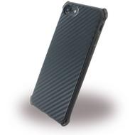 UreParts Carbon Case /  Hardcase - Apple iPhone 7 - Schwarz