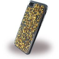 UreParts Flakes Case - Silikon Hülle - Apple iPhone 7 /  8 - Gold