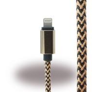UreParts Lightning auf USB Kabel - iPhone 6, 6s, 6 Plus, 6s Plus - Schwarz/  Gold