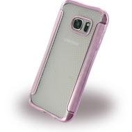 UreParts Shockproof Antirutsch - Silikon Cover für Samsung G930F Galaxy S7 - Pink