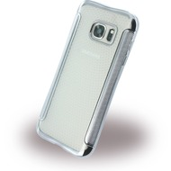 UreParts Shockproof Antirutsch - Silikon Cover für Samsung G930F Galaxy S7 - Schwarz