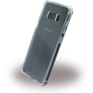 UreParts Shockproof - Hardcover mit Bumper - Samsung Galaxy S8 - Transparent