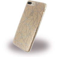 UreParts Tribal Case - Silikon Cover /  Schutzhülle - Apple iPhone 7 Plus /  iPhone 8 Plus - Gold