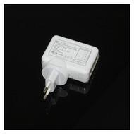 UreParts Universal Netzteil Ladegerät Ladekabel Reiselader Adapter, 4x USB