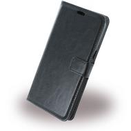 UreParts Uranus - Book Tasche/ Hülle/ Case - Samsung G928F Galaxy S6 Edge Plus - Schwarz