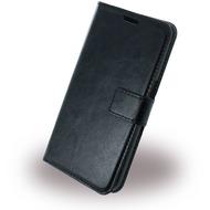 UreParts Uranus - Book Tasche/ Hülle/ Case - Samsung G930F Galaxy S7 - Schwarz
