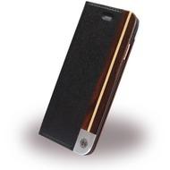 Uunique Black Ash - Book Cover - Apple iPhone 7 - Schwarz