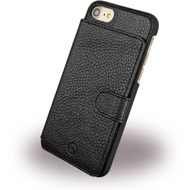 Uunique Multi Pocker - Leder Hardcover - Apple iPhone 7 - Schwarz