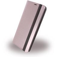Uunique Wooden/ Aluminium - Book Cover - Samsung Galaxy S8 Plus - Pink