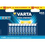 VARTA 4903 High Energy Micro 10-er Blister 10er Blister,
