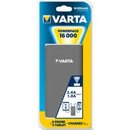 VARTA Akku Powerpack Li-Ion - USB - 5V/ 16000mAh für Smartphones - iPhone - Tablet