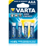 VARTA High Energy Micro AAA Batterie (4 Stück)