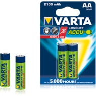 VARTA Longlife Accu Mignon AA 2100 mAh (2 Stück)