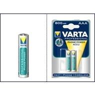 VARTA Akku für schnurlose Telefone, 2x Micro, (T398)