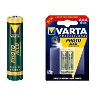 VARTA Photo Accu Micro AAA 1000 mAh (2 Stück)