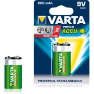VARTA Power Accu 9V-Block 200 mAh (1 Stück)
