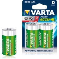 VARTA Power Accus Mono D 3000 mAh (2 Stück)