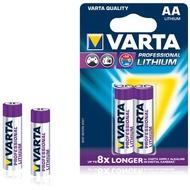 VARTA Professional Lithium Batterie Mignon AA 2900 mAh (2 Stück)