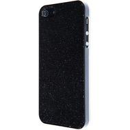 VCubed 3 Glitter Hülle, für iPhone 5 /  5S, Schwarz