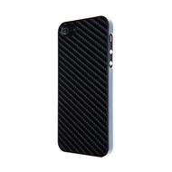 VCubed Carbon Look Hülle, für iPhone 5 /  5S, Schwarz