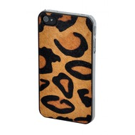 VCubed Jungle Hairy Leather Case, iPhone 4 /  4S, Leopard