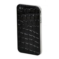 VCubed Jungle Printed Case, iPhone 4 /  4S, Black Croc