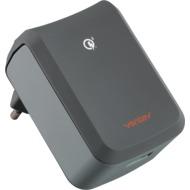 VENTEV wallport EU power adapter USB A QC 3.0 15W grey
