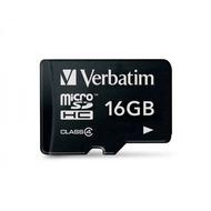 Verbatim Micro-SD Card  16GB Verbatim SDHC Class 4 ohne Adapter