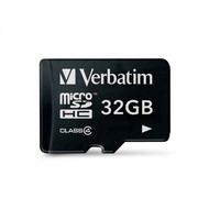 Verbatim Micro-SD Card 32GB Verbatim SDHC Class 4 ohne Adapter