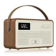 VQ Retro MKII DAB+ Radio mit Lightning-Dock, Bluetooth, braun