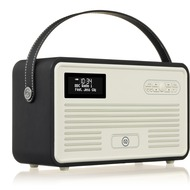 VQ Retro MKII DAB+ Radio mit Lightning-Dock, Bluetooth, schwarz