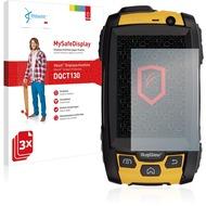 Vikuiti 3x MySafeDisplay Displayschutzfolie DQCT130 von 3M passend für RugGear RG500