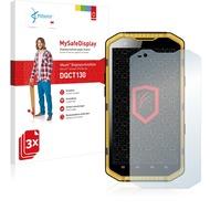Vikuiti 3x MySafeDisplay Displayschutzfolie DQCT130 von 3M passend für RugGear RG700