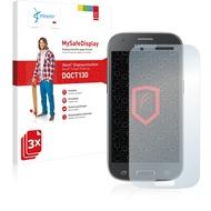Vikuiti 3x MySafeDisplay Displayschutzfolie DQCT130 von 3M passend für Samsung Galaxy Ace 4 SM-G357FZ