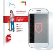 Vikuiti 3x MySafeDisplay Displayschutzfolie DQCT130 von 3M passend für Samsung Galaxy Ace 4 SM-G357